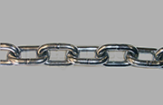 Stainless steel proof coil chain