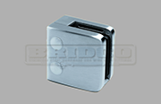 Stainless Steel Glass Clamp - Medium Square Shape for Flat Post to fit 6mm, 8mm and 10mm glass widths