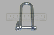 Stainless Steel Head board shackle with captive pin