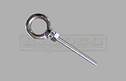 Load rated eye bolt - long thread grade 316