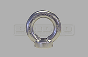 Load rated eye nut Grade 316