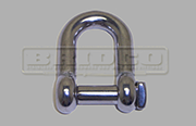 Stainless Steel square head D shackle