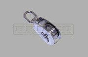 Stainless Steel small swivel head block with S/S sheave 304 grade