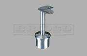Rail Support Fixed 90degree Round Rail - Stainless Steel Tube Fitting