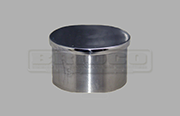 End Cap Flat - Stainless Steel Tube Fitting