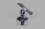 Rail Support - Adjustable - External Fit  - Stainless Steel Tube Fitting