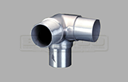 Elbow Joiner - Corner Post and Rail -Stainless Steel Post Fitting used for Balustrade