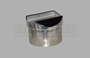 Rail Support - For Round Handrail - Stainless Steel Tube Fitting