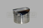 Rail Support - For Flat Handrail - Stainless Steel Tube Fitting