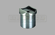 Rail Support - Round Rail - Stainless Steel Tube Fitting
