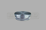 Rail End Cap – Flat - Stainless Steel Tube Fitting