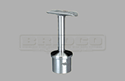 Rail Support Fixed Round Rail - Stainless Steel Tube Fitting