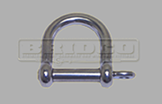 Stainless Steel Wide D Shackle
