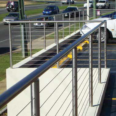 Arcus stainless steel wire rope for balustrades